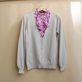 外贸韩国原单针织衫女黑色百搭显瘦修身打底衫假两件