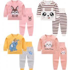 儿童内衣套装纯棉宝宝秋衣秋裤男童女童睡衣婴儿衣服高