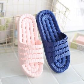 拖鞋女夏浴室洗澡防滑软底室内家用居家漏水漏洞速干