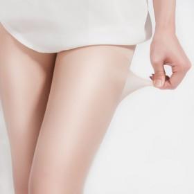 絲襪女薄款防勾絲光腿連褲襪神器春秋款肉色