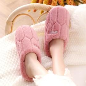 棉拖鞋女秋冬季家居家用室内情侣可爱拖鞋女式冬天保暖