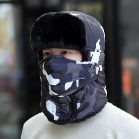 雷锋帽男冬季保暖
