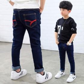 男童牛仔裤2019春秋单裤童装牛仔长裤儿童秋冬裤子