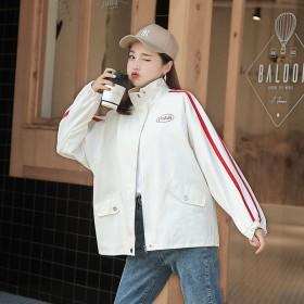 2019秋季新款短外套洋气韩版上衣宽松显瘦百搭女