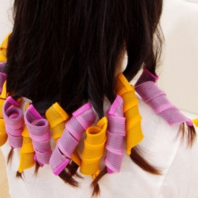 【韩国卷发器】不伤发质卷美发卷塑料卷蜗牛卷大波浪型