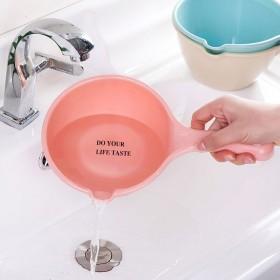 塑料水瓢厨房长柄水勺沐浴水舀儿童宝宝洗澡瓢舀子