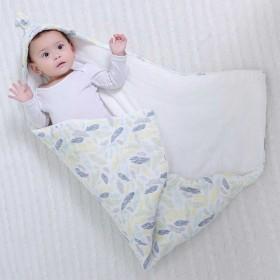 纯棉花芯可脱胆纯棉婴儿抱被宝宝包被新生儿用品包被