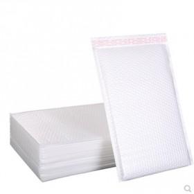 白色珠光膜气泡信封袋加厚防水防震泡沫袋书本服装快递