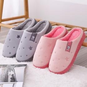 拖鞋情侣家居一对秋冬室内拖鞋防滑耐脏拖鞋加绒男女可