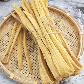 农家腐竹干货无添加纯正大豆制品手工油豆皮特级豆腐皮