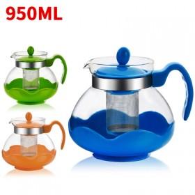 耐高温玻璃茶壶防爆壶950ml