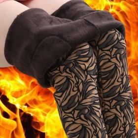 秋冬季中老年女装女裤妈妈装加绒加厚女裤子保暖外穿打