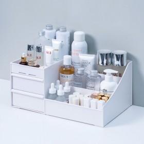 抽屉式化妆品收纳盒整理护肤桌面梳妆台口红置物架整理