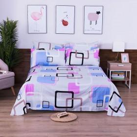 【1条床单×2个枕套】磨毛套件单双人床单学生宿舍床