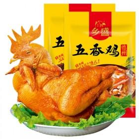 乡盛德州扒鸡 正宗400克×2只烧鸡整只