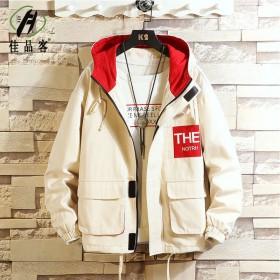 男士新款外套春秋学生韩版工装夹克