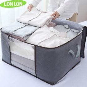 被子衣服收纳袋衣物棉被打包袋整理袋行李包手提收纳袋