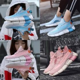 休闲鞋飞织学生运动鞋潮流时尚椰子鞋透气跑步