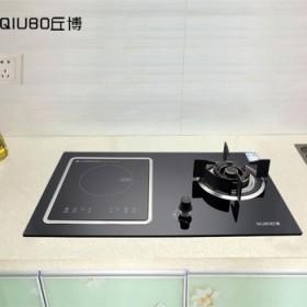 电气两用燃气灶嵌入式气电灶一气一电台式灶双灶家用