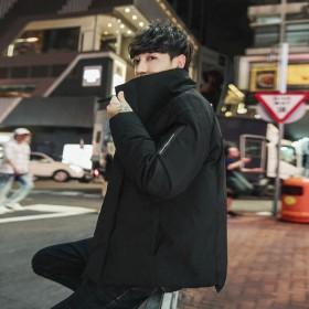 新款冬季潮流韩版帅气宽松棉服
