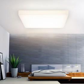 德国出口品质LED卧室高亮方形吸顶灯