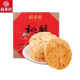 稻香村传统手工桃酥640g小吃糕点点心家庭零食