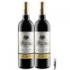 法国进口红酒干红葡萄750ml×2