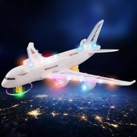 儿童电动万向发光音乐飞机1-3-6周岁宝宝直升机