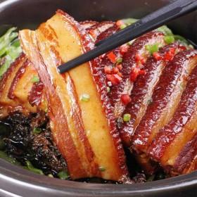 正宗的梅菜扣肉2斤1斤真空包装红烧肉虎皮卤肉熟食下
