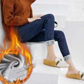 秋冬弹力牛仔裤女裤加绒加厚长裤韩版显瘦高腰小脚裤