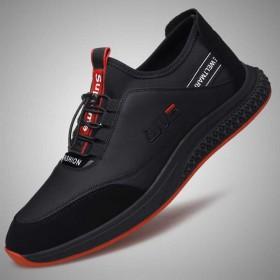 隐形内增高男鞋6cm男士皮鞋潮流时尚休闲运动真皮透