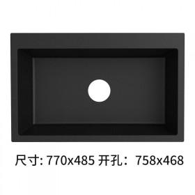 【包郵】 石英石水槽大單槽 廚房水槽 高硬度 裸槽