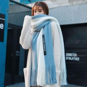 新款围巾女冬季韩版百搭秋冬天学生可加厚情侣披肩