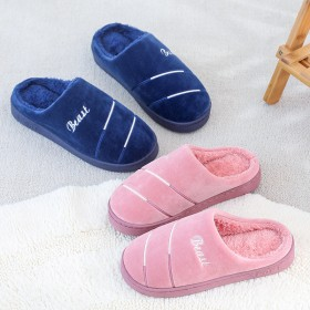 新款棉拖鞋男士厚底保暖家居棉拖女男室內家用家居