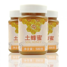 正宗土蜂蜜农家自产野生蜂蜜养胃百花蜜洋槐蜜500g