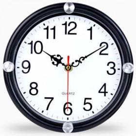钟表挂钟客厅现代家用石英钟创意静音圆形电子钟