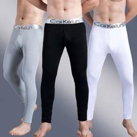 男士秋裤学生青少年修身单件保暖裤秋冬季大码