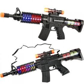 儿童宝宝幼儿电动玩具枪狙击枪投影枪声光音乐震动小男