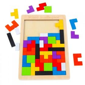 俄罗斯方块积木拼图儿童益智玩具幼儿宝宝智力开发早教