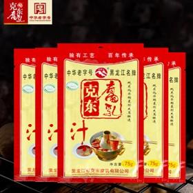 75g/5袋克东腐乳汁红烧肉炖肉东坡肉调料烧烤火锅