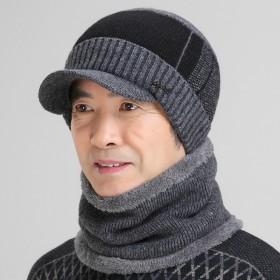 帽子男冬季羊毛帽