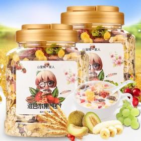 混合水果燕麦片500g罐装代餐