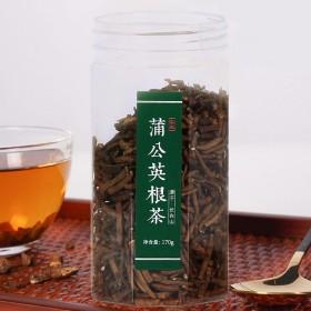精品罐装长白山长白山蒲公英根茶野生细根清热去火