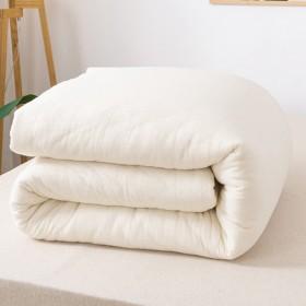 棉被芯棉絮垫被学生宿舍单人棉花被褥床垫双人加厚保暖