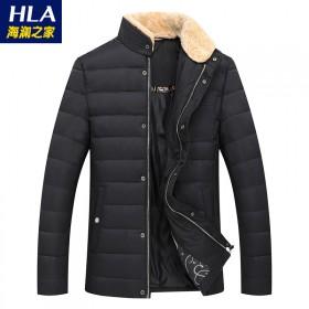 男装冬季保暖羽绒服男修身韩版青年时尚男士外套V3Z