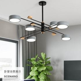 北欧风格LED客厅吊灯卧室灯网红抖音同款吸顶灯