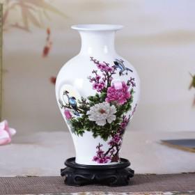 亏本送底座景德镇陶瓷器花瓶家居装饰品