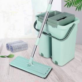 加厚桶保质量懒人免手洗家用平板拖把桶旋转拖布地拖桶