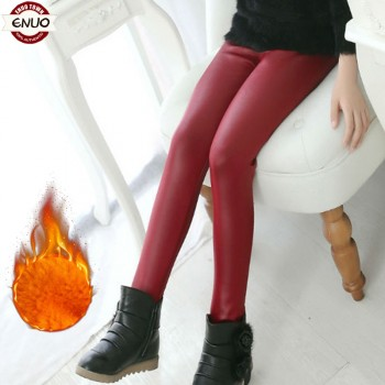 女童打底裤冬装加绒加厚黄金绒保暖长裤韩版中小童童装