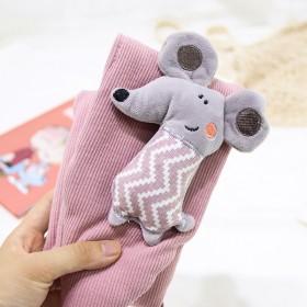 儿童围巾秋冬小老鼠围脖宝宝保暖围脖婴儿